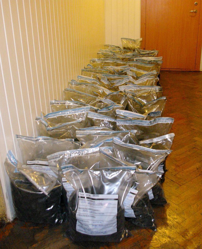 Kokaino kontrabandos byla: pasidavė dvejus metus slapstęsis įtariamasis