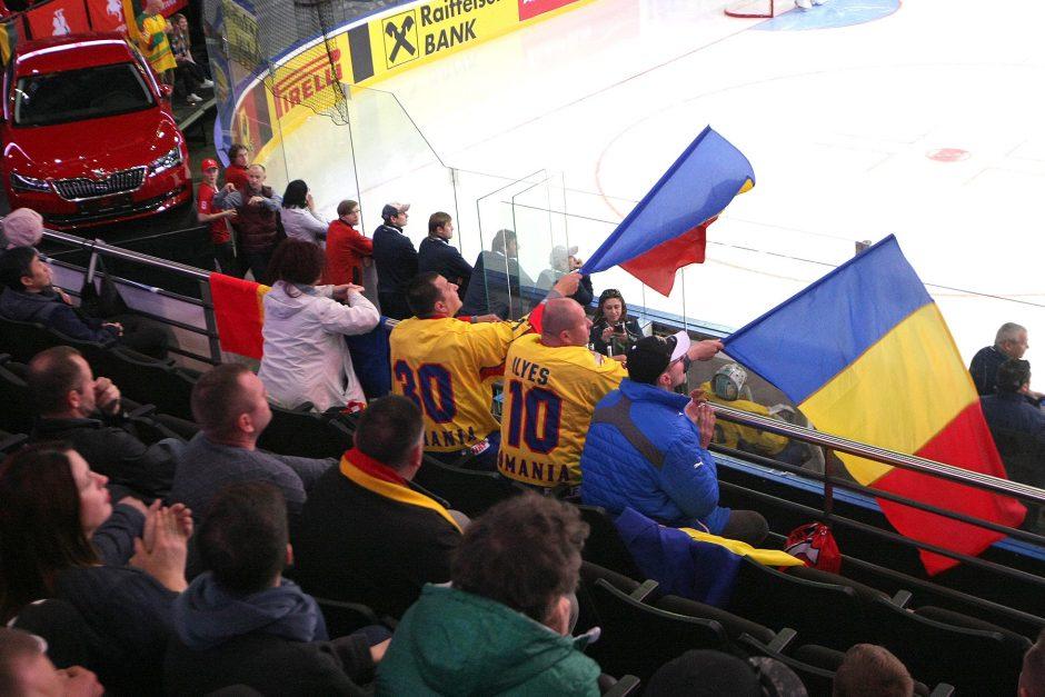 Ledo ritulys: Lietuva – Rumunija 8:3
