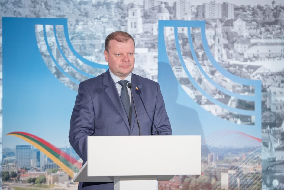 Premjeras atidarė Lietuvos ir Lenkijos ekonomikos forumą