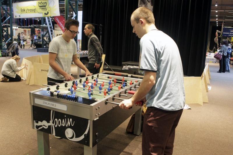 Sostinėje – Lietuvos stalo futbolo čempionato įkarštis
