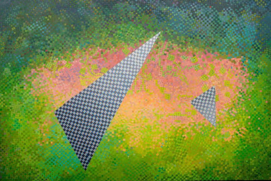 Klaipėdietės D.Kirkutienės tapybos parodoje – gyvenimo spalvų ir atspalvių dėlionės