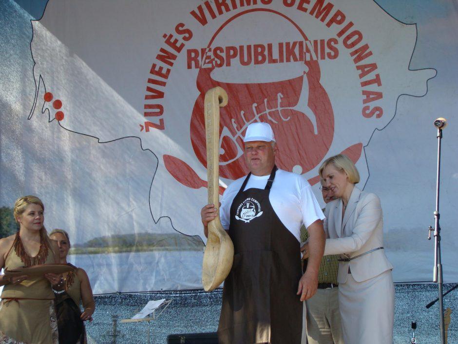 Žuvienės virimo čempionate išvirta rekordiškai daug sriubos