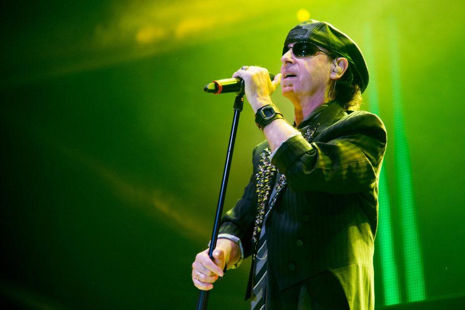 """Legendiniai rokeriai """"Scorpions"""" grįžo į Vilnių"""