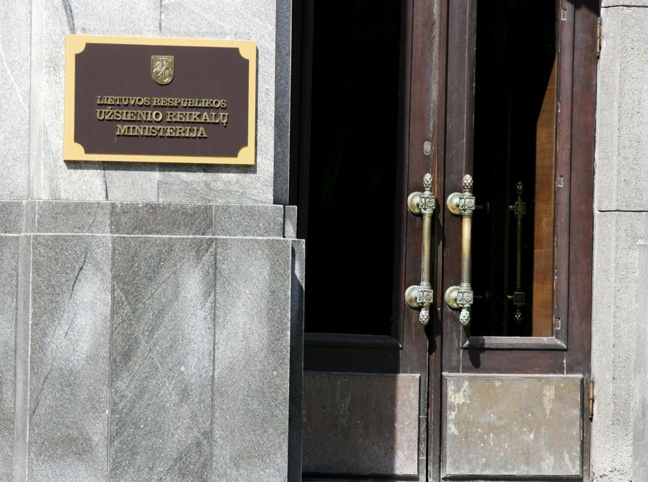 Už patalpų Romoje pritaikymą Lietuvos ambasadai bus atsakinga užsienio ministerija