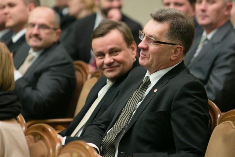 Premjeras ir Seimo vadovas: nuosprendis Darbo partijai koalicijos nepaveiks