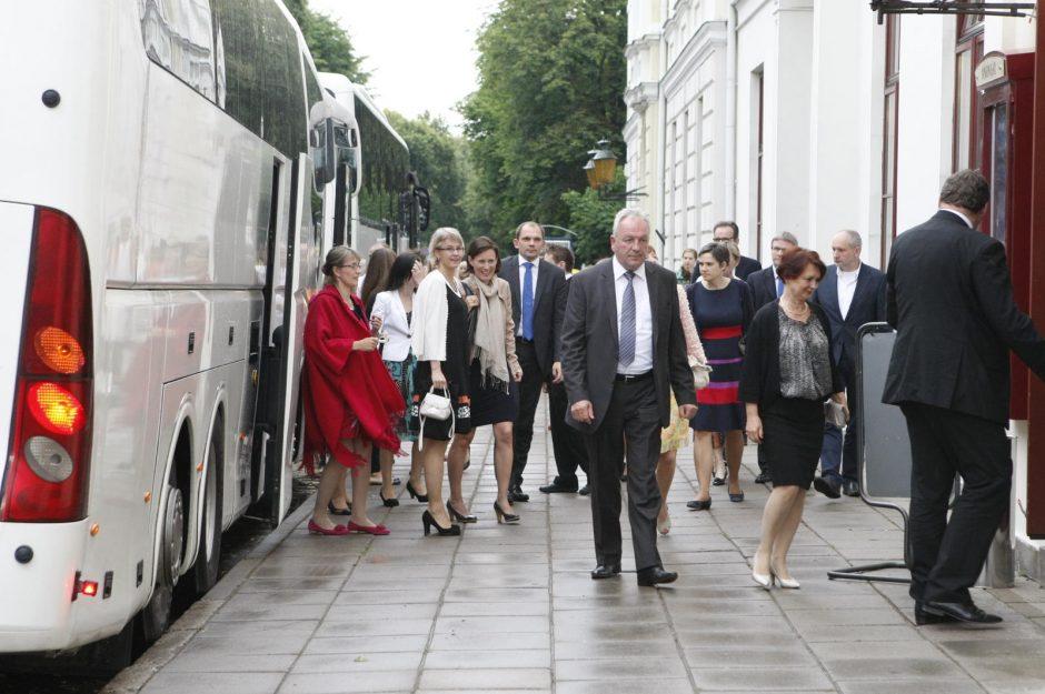 Klaipėdos mero priėmime – ES šalių ambasadoriai