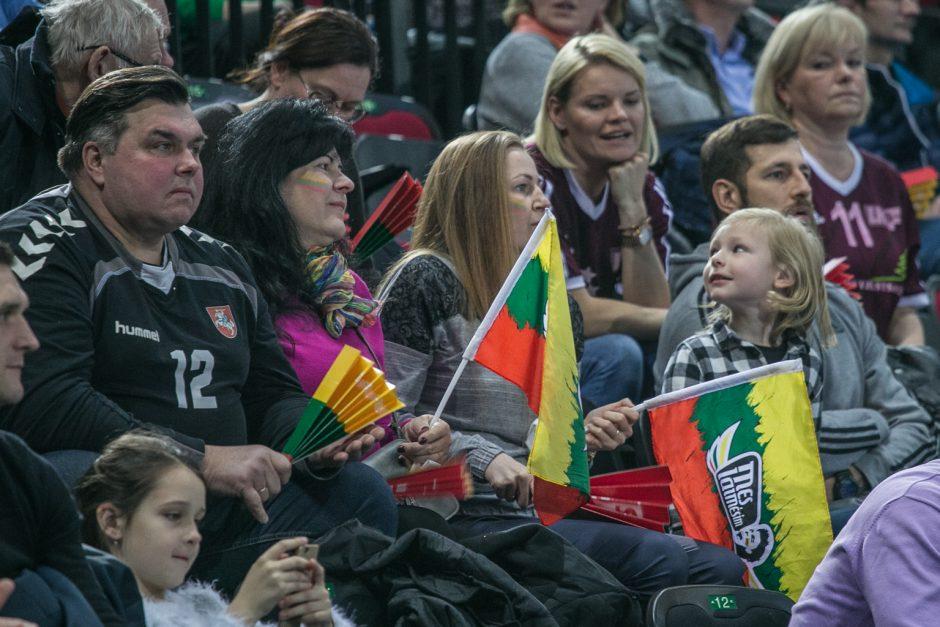 Lietuvos rankininkai pasaulio čempionato atranką pradėjo užtikrinta pergale