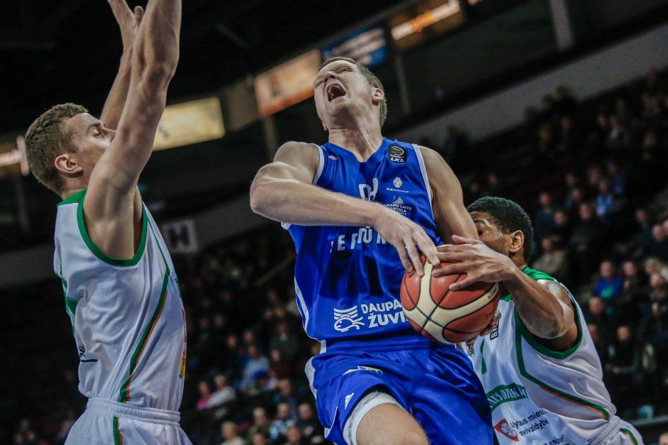 """Sensacija: """"Neptūnas"""" baigė pasirodymą SIL-Karaliaus Mindaugo taurės turnyre"""