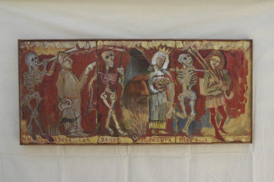 G. Latako kūryba, įkvėpta senosios dailės, religijos ir mitologijos