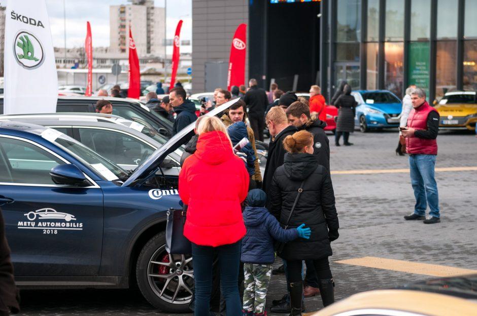 """Kauniečiai rinko savo miesto """"Metų automobilį"""""""