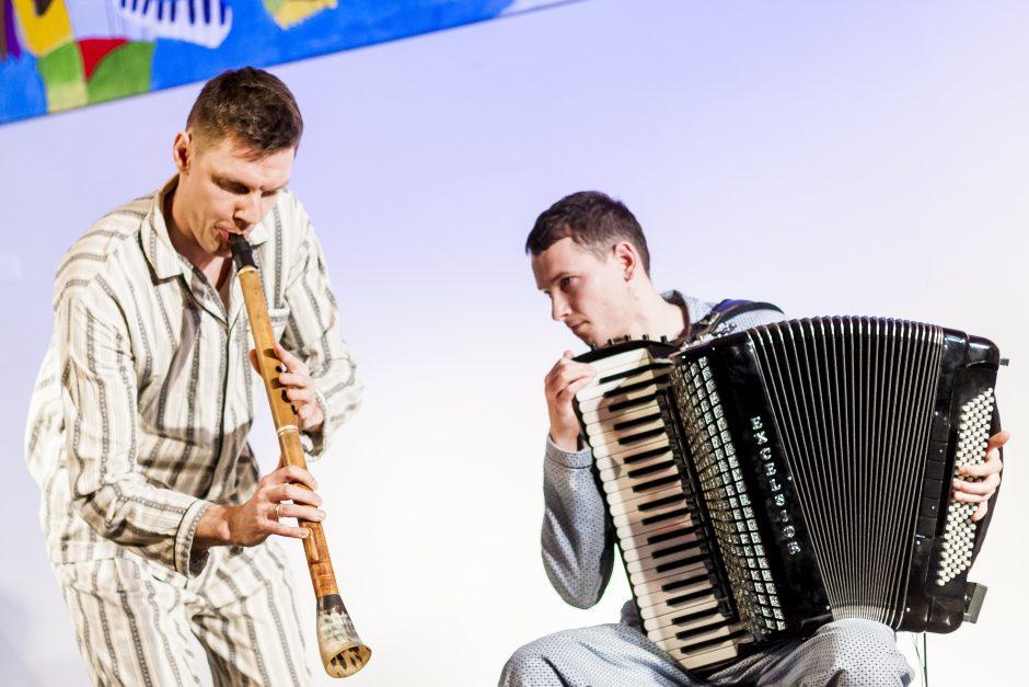 """Vilniečiai su trenksmu uždarė koncertų ciklą """"Rytinės miesto  melodijos"""""""