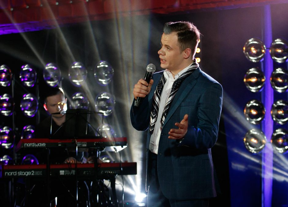 """""""Aš – superhitas"""" šou paliko operos solistas Kasparas"""