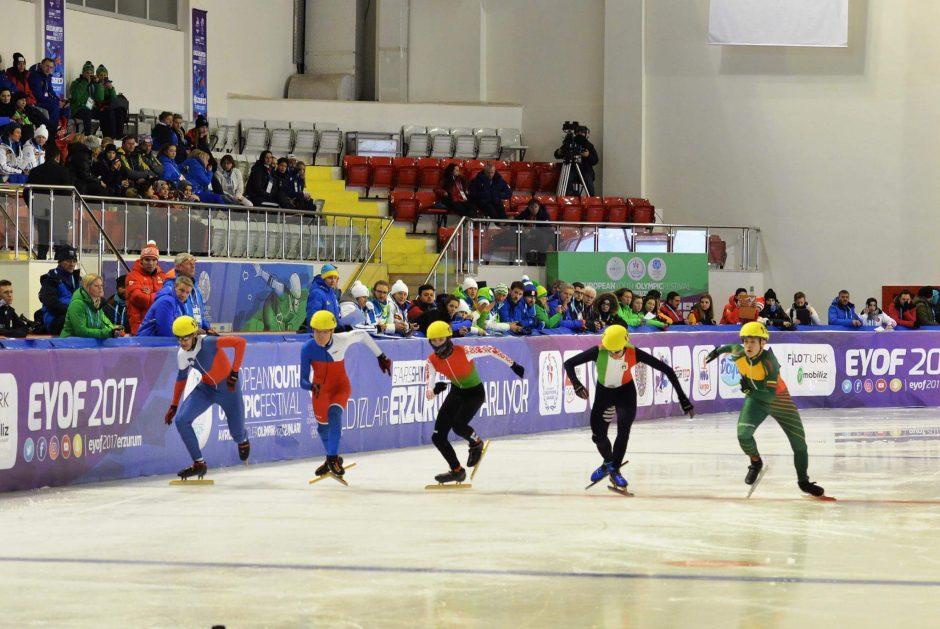 S. Ramanauskas liko per plauką nuo antro medalio
