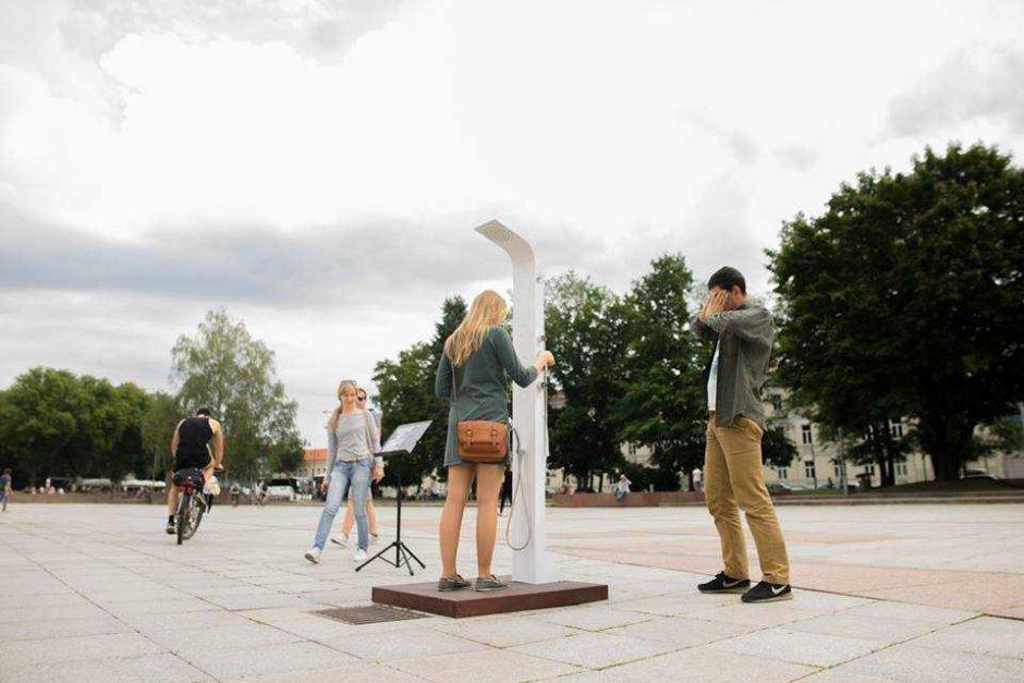 Valdovų rūmuose – istoriją ir aplinką nagrinėjanti garso instaliacijų paroda