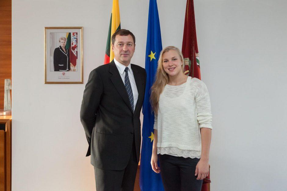 Vilniuje vyks R. Meilutytės vardo Šeimų plaukimo turnyras
