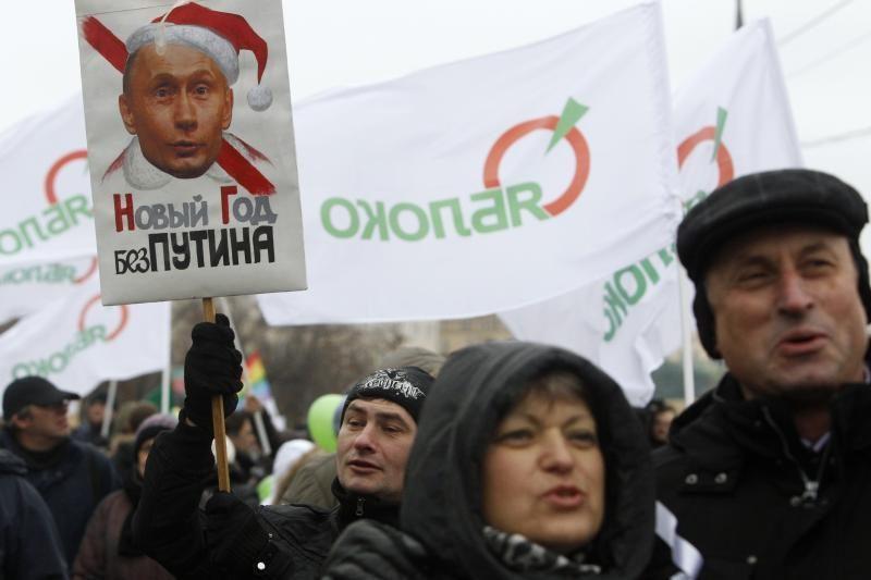 Rusijos gyventojai: opozicijos akcijos nieko šalyje nepakeitė