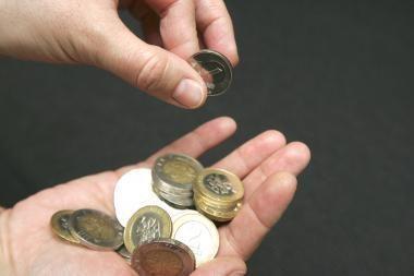 Lietuvos BVP pirmąjį pusmetį sumažėjo 0,7 proc.