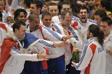 Prancūzijos rankininkai - Europos čempionai
