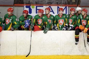 Lietuvos ledo ritulio rinktinės stovykloje - nauji žaidėjai