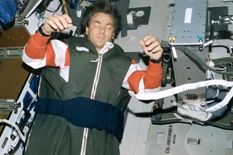 Tylos! Tarptautinėje kosminėje stotyje astronautai jau gulasi