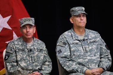 JAV pajėgoms Irake pradeda vadovauti R.Odierno