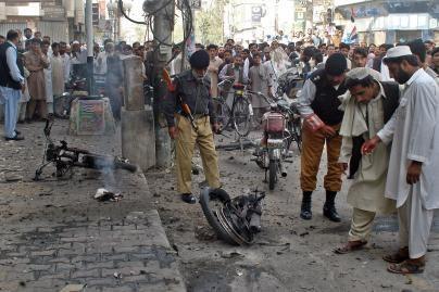 Pakistane per mirtininko sprogdintojo išpuolį žuvo šeši žmonės