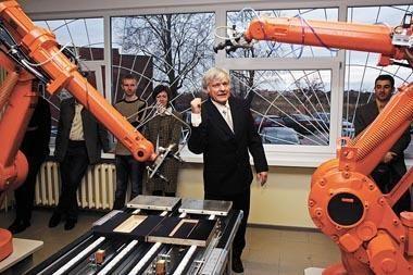 Panevėžyje – robotų laboratorijos