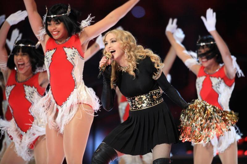 Madonna gegužę pradeda pasaulinį koncertinį turą