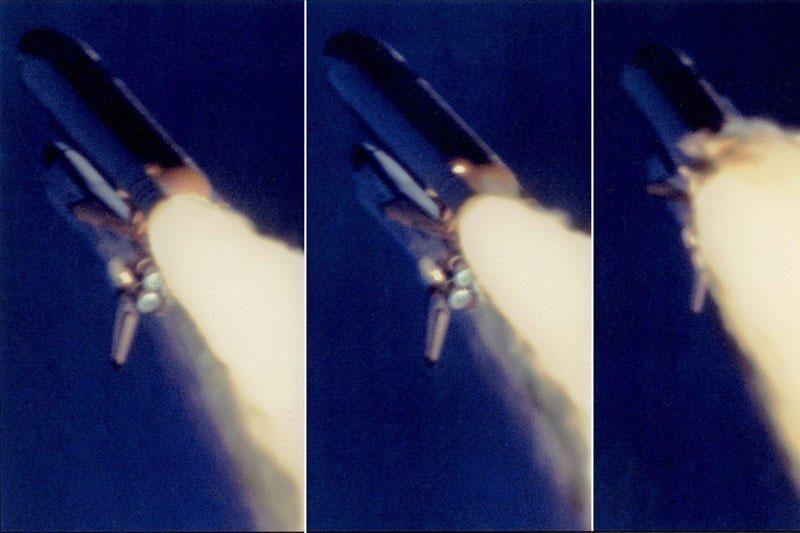 """Nerodyti kadrai: erdvėlaivio """"Challenger"""" katastrofa 1986-aisiais"""