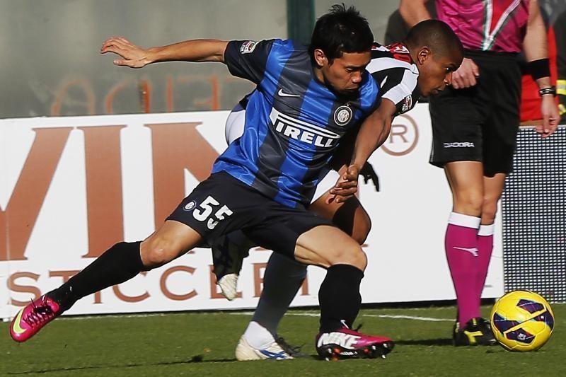"""""""Inter"""" nukovė Italijos lygos autsaideris"""