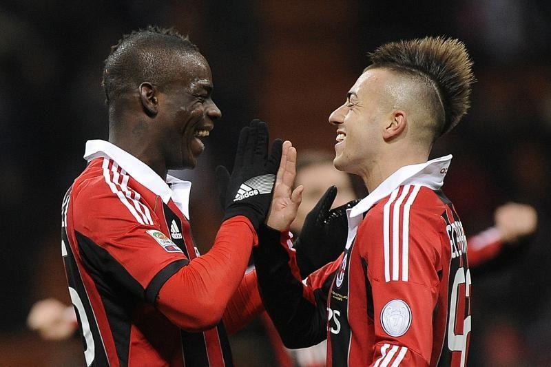 """M. Balotellis prisidėjo prie """"Milan"""" pergalės Italijos čempionate"""