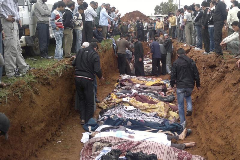 Sirijoje nuo sukilimo pradžios žuvo daugiau kaip 14,1 tūkst. žmonių