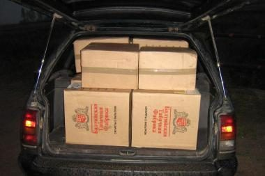 VSAT pareigūnai surengė kontrabandininkų gaudynes