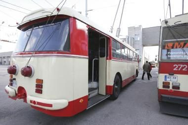 Santariškes bus galima pasiekti troleibusu?