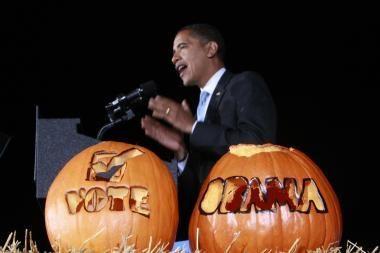 Helovino šventėje Obamų bus daugiau nei McCainų