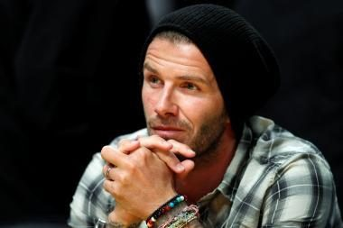 D.Beckhamui gali būti surastos pareigos Anglijos rinktinės trenerių štabe