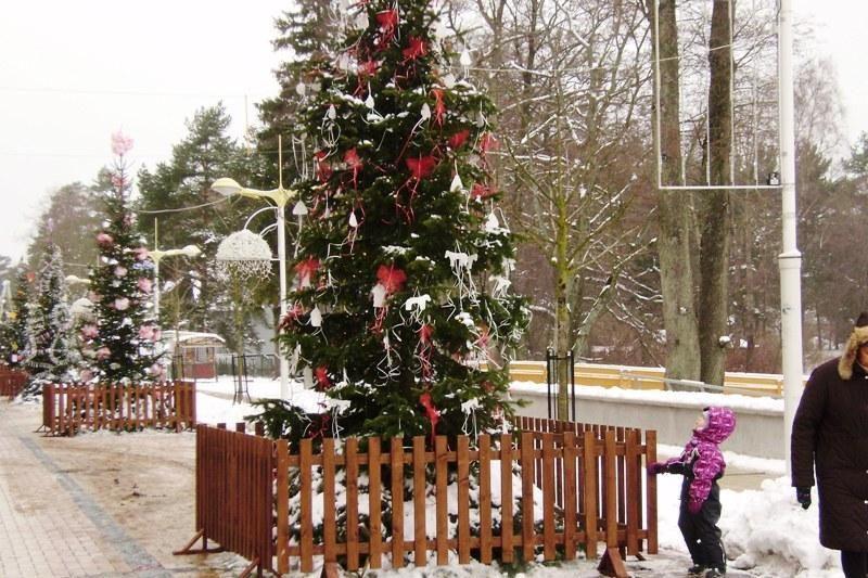 Palanga ruošiasi stačiatikių Kalėdoms
