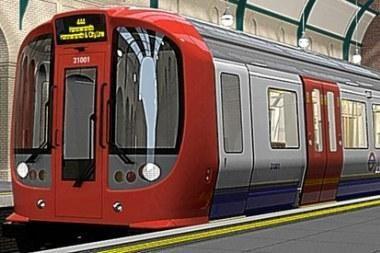 Londone - pirmasis metro traukinys su kondicionieriumi