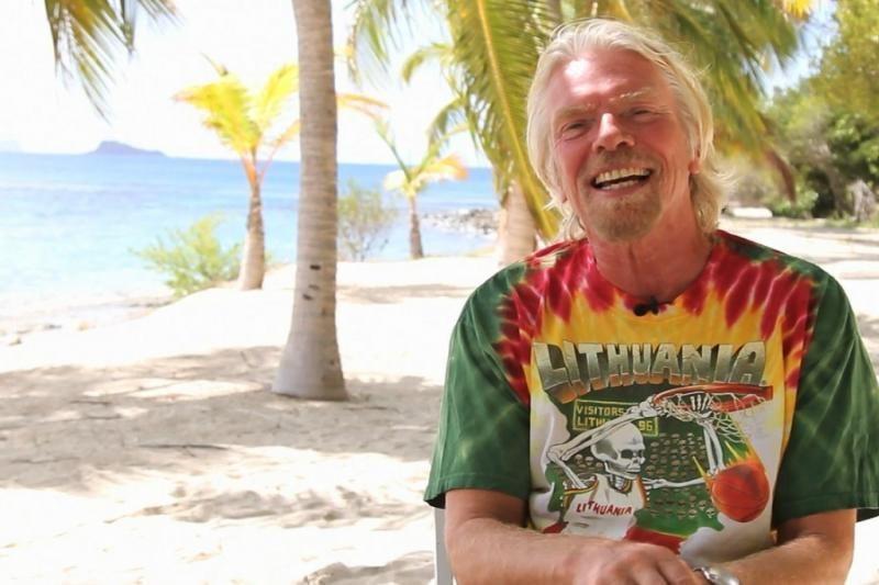 Milijardierius R. Bransonas Lietuvai: kurkite svajonių komandas versle