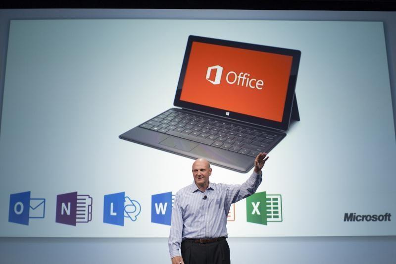 """Microsoft oficialiai pristatė naująjį """"Office"""" biuro programų rinkinį"""