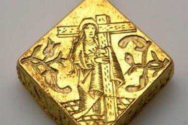 Britanijoje trimetis rado 2,5 mln. svarų sterlingų vertės auksinį medalioną