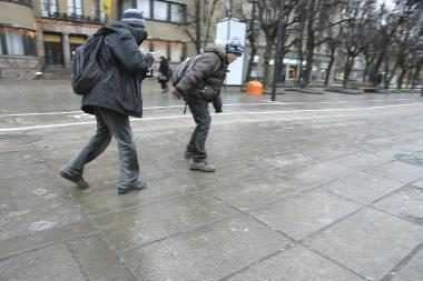 Orai Kaune: artėja atlydys