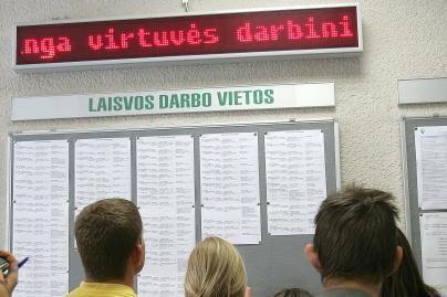 Rugpjūtį į darbo biržą kreipėsi 2 tūkst. kauniečių