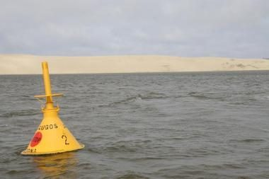 Pramoginės jachtos kapitonas įplaukė į Rusijos teritoriją