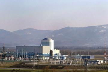 Slovėnijoje dėl vandens nuotėkio sustabdyta atominė elektrinė