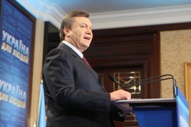 Ekspertai: V.Janukovyčius nepakenks Lietuvos ir Ukrainos partnerystei (papildyta)
