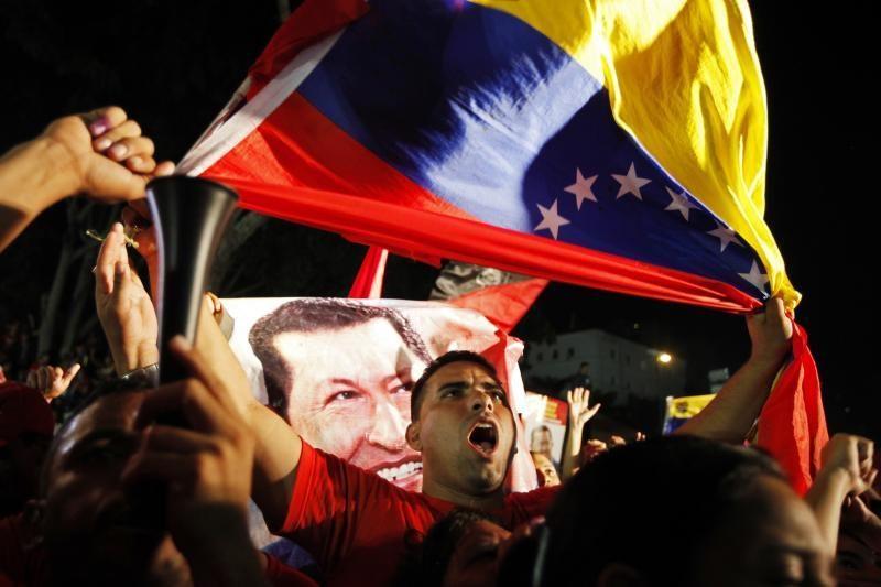 """Perrinktas H. Chavezas: """"Ačiū, Dieve! Ačiū jums visiems!"""""""