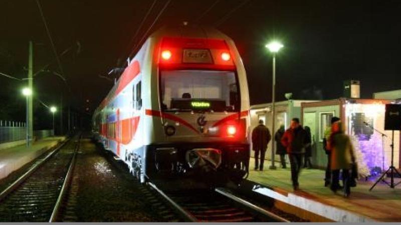 Po pusmečio žadami nauji traukiniai iš Vilniaus į Klaipėdą ir Minską