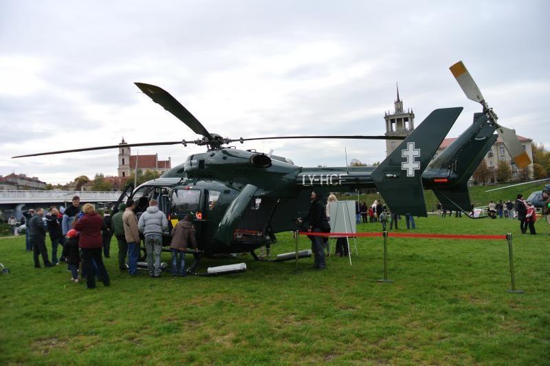 KAM sraigtasparnių įsigijimo konkurso pabaiga - kovo mėnesį