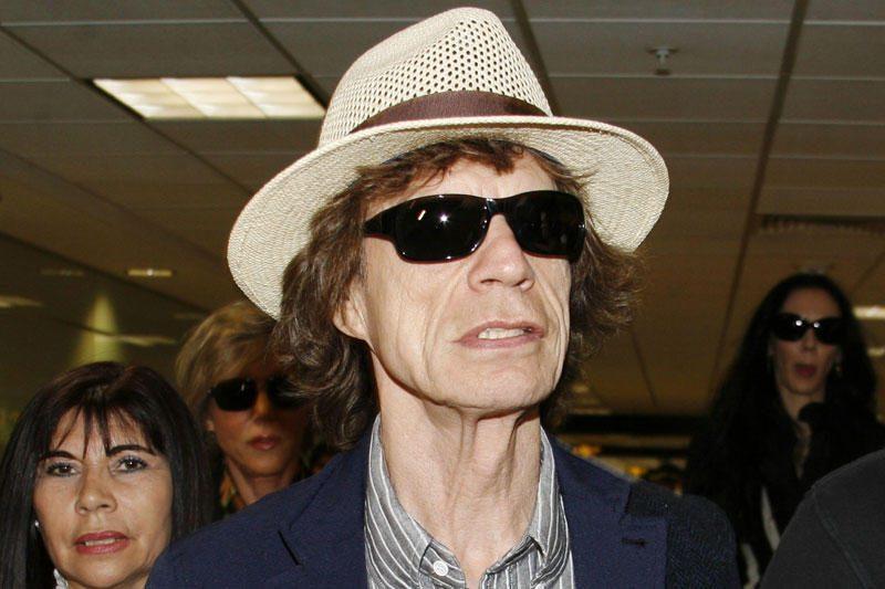 Mickas Jaggeris koncertuos Baltuosiuose rūmuose